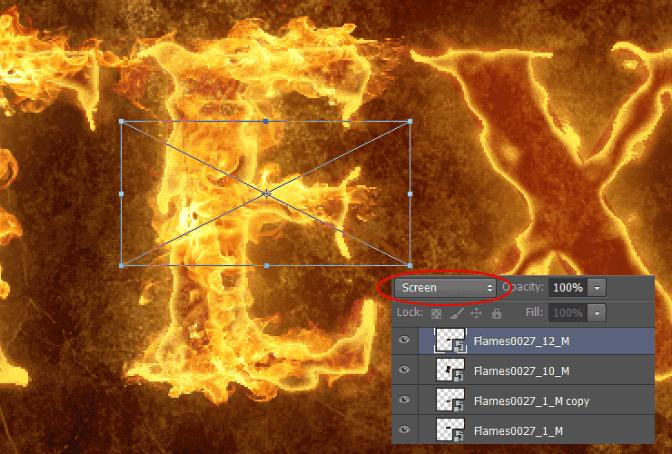 PS制作火焰字入门教程,一步一步实战操作!