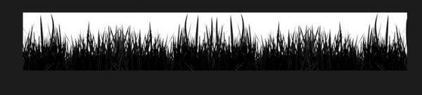 百草丰茂的春季小草笔刷