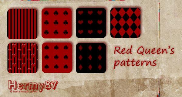 PS填充图案:红桃、梅花、方块等纹理图案pat格式