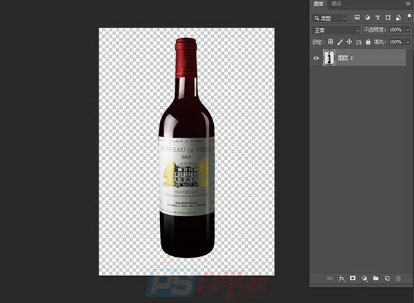 实践运用PS形状素材制作红酒广告案例教程