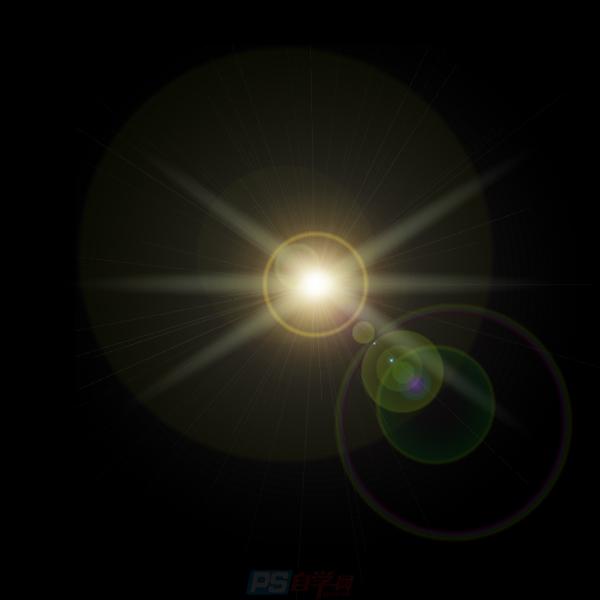 PS光效怎么做,运用PS滤镜工具给图片制作光效教程