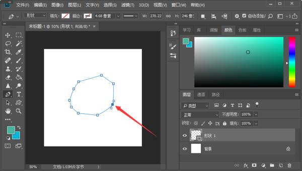 PS锚点工具的含义是什么,怎么添加和移动锚点?