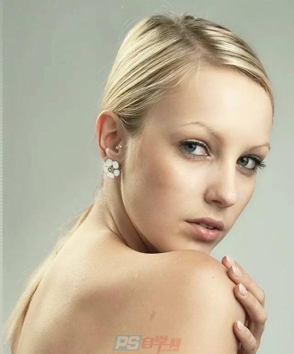 PS磨皮美肤教程,增加人像皮肤质感