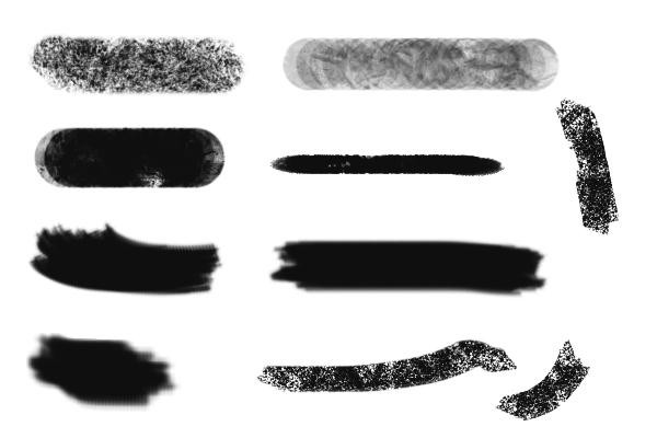 PS笔刷下载  全套CG插画创作笔刷