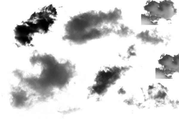 PS笔刷下载  大型复杂云彩笔刷