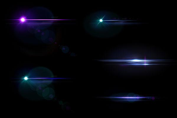PS笔刷下载  高清镜头光晕、耀斑效果光影特效笔刷(PNG格式)