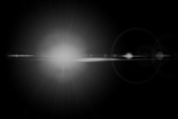 PS笔刷下载  高品质镜头光晕、地平线光照笔刷