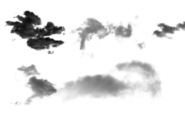 PS笔刷下载  万里晴空、天空云朵纹理笔刷