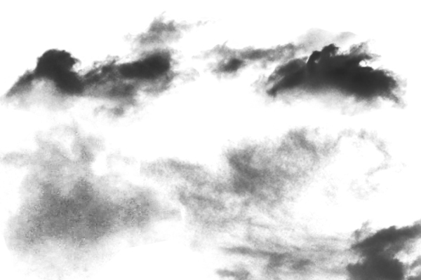 PS笔刷下载  天空中的白云、云朵云彩纹理笔刷
