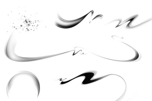PS笔刷下载  梦幻恋爱、爱心图案笔刷