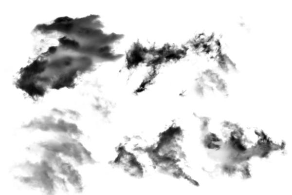 PS笔刷下载  真实的高清白云、云彩笔刷