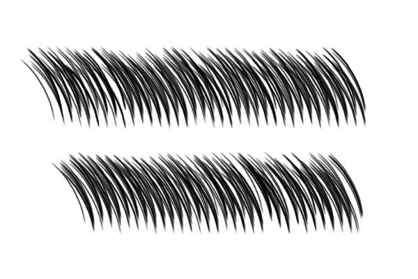 PS笔刷下载  络腮胡子、浓密的毛发笔刷