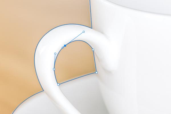 PS如何调整路径形状