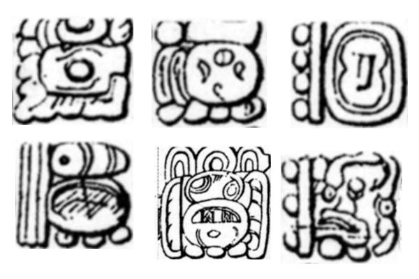PS笔刷下载  部落图案、神庙印记图案笔刷