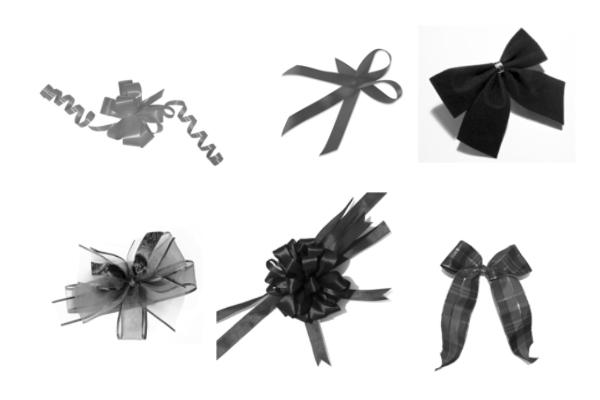PS笔刷下载  礼品结、蝴蝶结、包装结笔刷