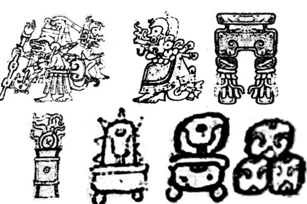 PS笔刷下载  神秘部落痕迹、印记图案笔刷