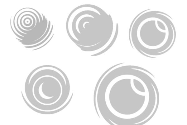 圆形装饰图案PS笔刷