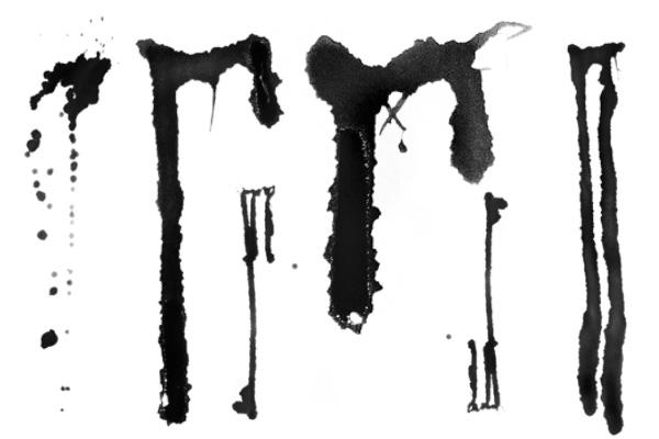 血泪痕迹、血液痕迹PS笔刷