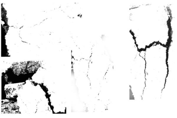 裂缝、裂开纹理效果PS笔刷