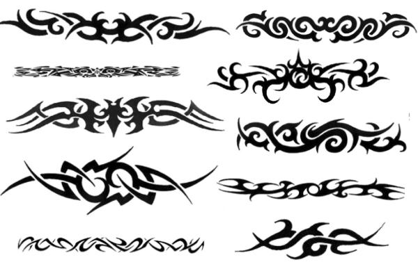 酷炫纹饰、刺青、纹身图案PS笔刷