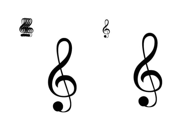 音乐符号音符PS笔刷