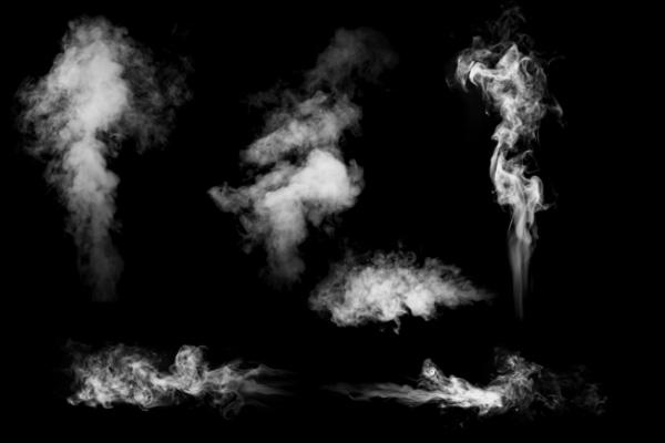 烟雾、水蒸气、气雾状态PS笔刷