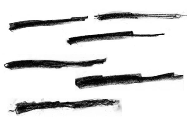 粉笔涂画纹理PS笔刷