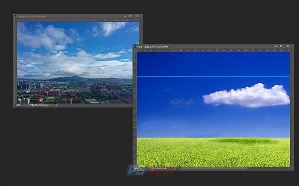 PS使用图层蒙版换天空
