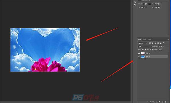PS快速更换图片背景