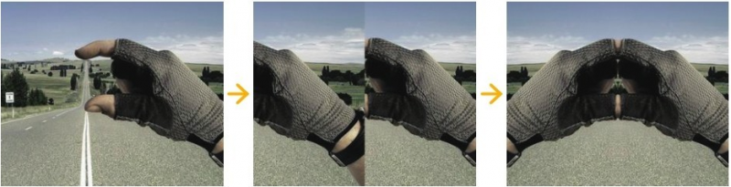 利用PS矩形选框工具、移动工具实现图片水平翻转效果