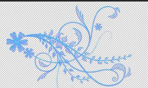 通道抠图,PS通道抠复杂花纹背景图教程